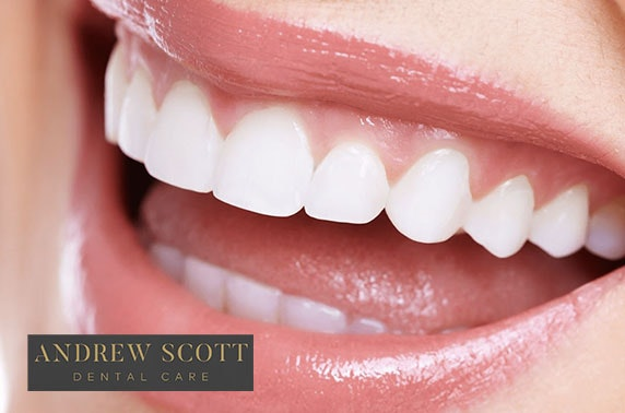 Private whitening & dental treatments at Andrew Scott Dental