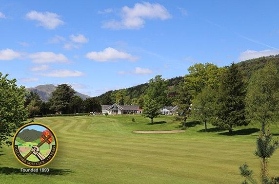 Callander Golf Club round & lunch