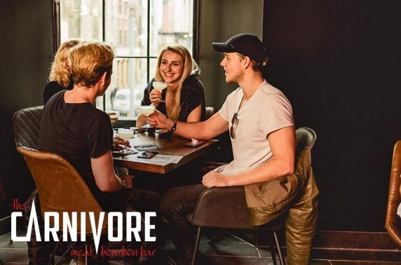 The Carnivore sharing platters & wine