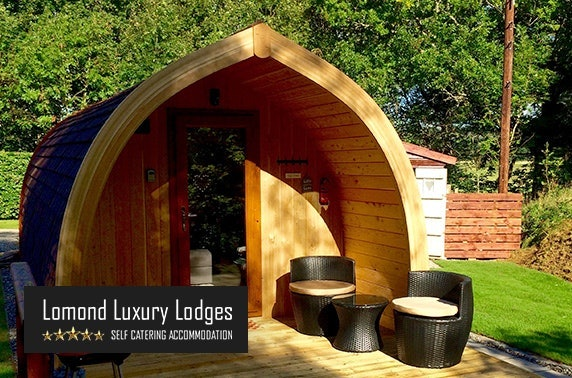 Dream Pod with private hot tub - from £159