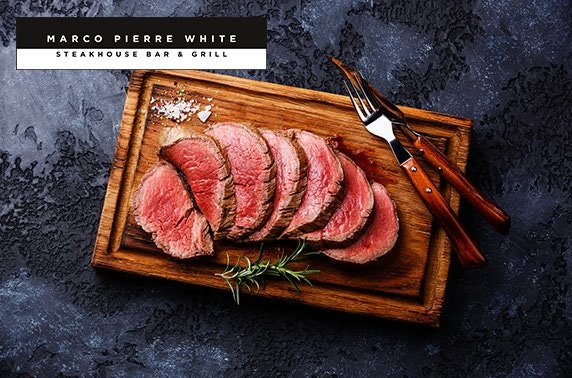 Marco Pierre White chateaubriand