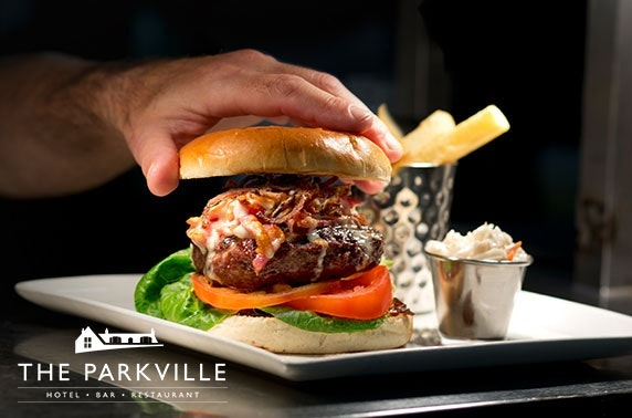 The Parkville Hotel dining