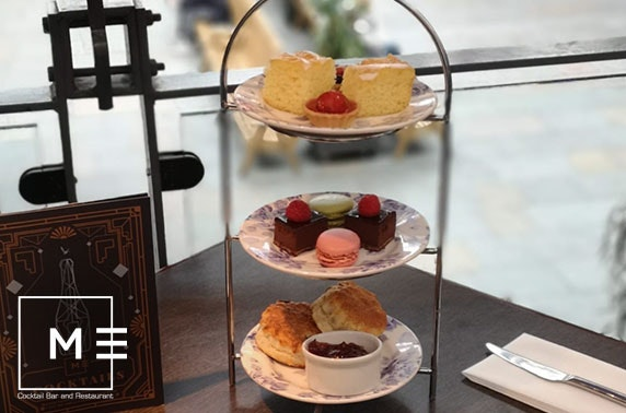 Metropolitan afternoon tea, Merchant Square