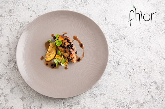 5 course tasting menu at Michelin-recommended Fhior, Broughton Street
