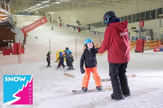 Snow Factor lessons, Braehead