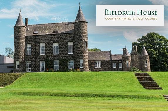 4* award-winning Meldrum House stay