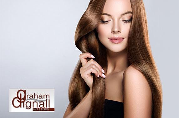 Hair treatments at Graham Dignall Hair & Beauty