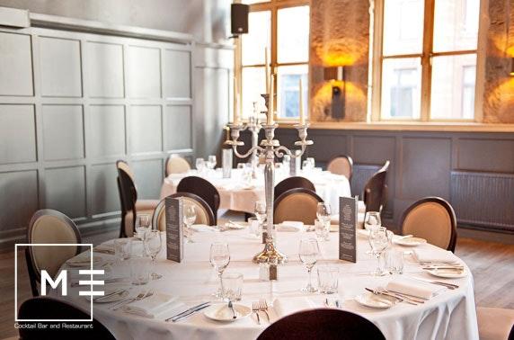 Metropolitan private dining – £20pp