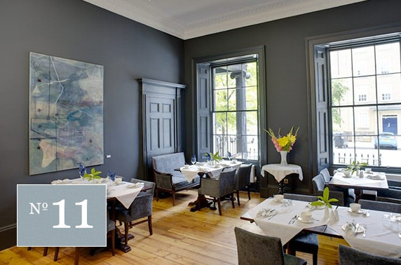 No 11 Brunswick dining, City Centre