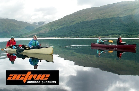 5* Active Outdoor Pursuits activity day, near Aviemore