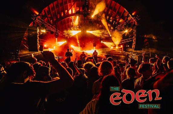 Eden Festival - weekend camping tix