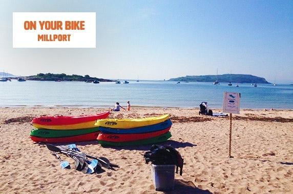 Bike or kayak hire, Millport