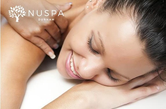 Spa day at NUSPA Durham in 4* Radisson Blu Hotel, City Centre
