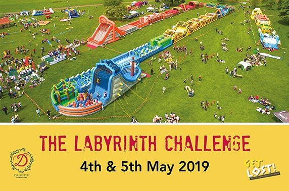 The Labyrinth Challenge at Dalkeith Country Park