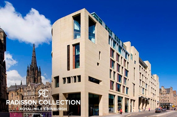 Boutique Radisson Collection stay, Royal Mile