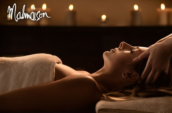 4* Malmaison Manchester spa day, lunch & Prosecco