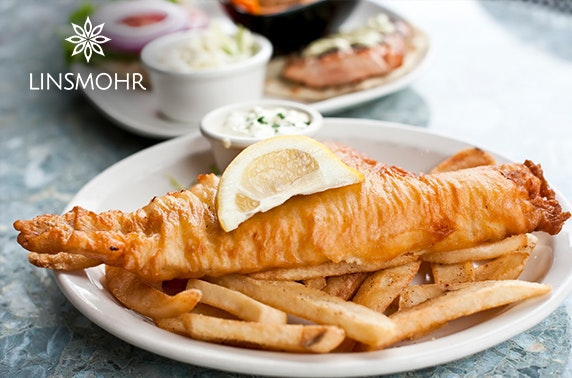 The Linsmohr Hotel dining – from £6pp
