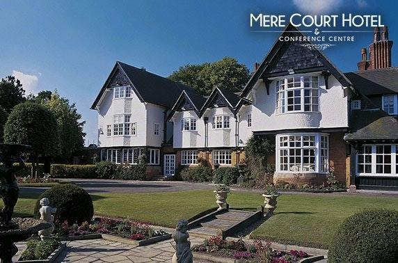 Luxury Cheshire DBB - £89