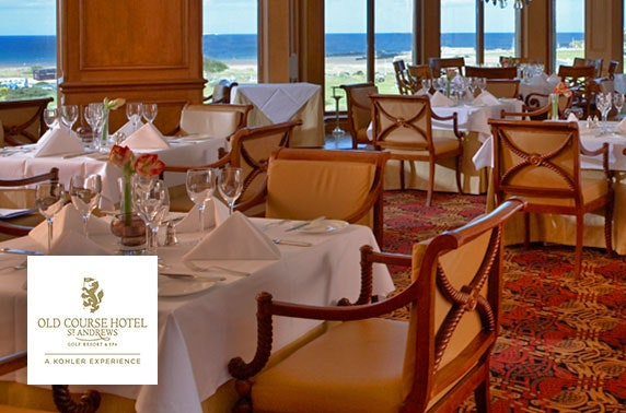 5* Old Course Hotel luxury DBB