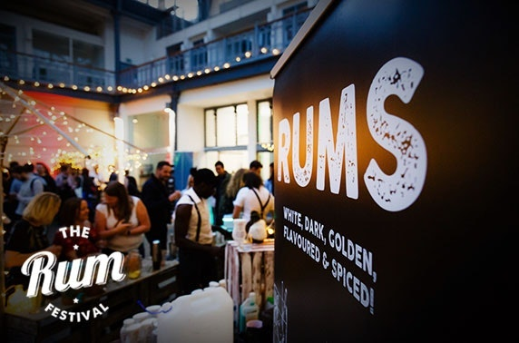 The Rum Festival at The Dissection Room, Summerhall
