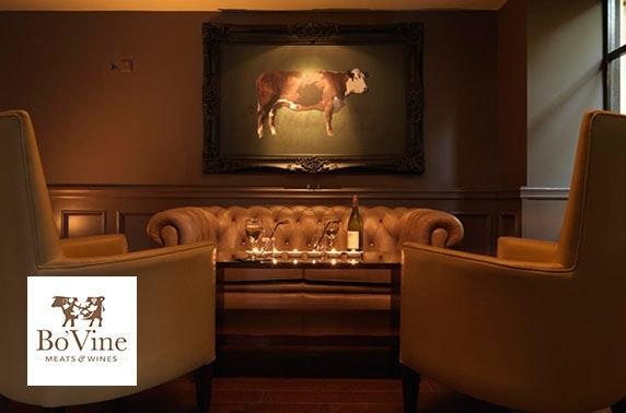 Chateaubriand & Prosecco at Bo'Vine