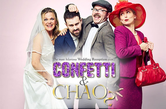 The Wedding Reception: Confetti & Chaos - immersive dining experience at Edinburgh Fringe