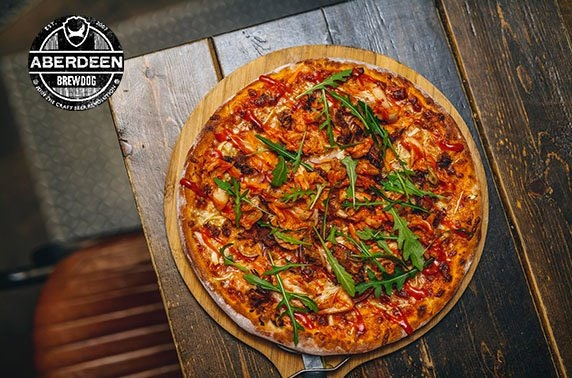 BrewDog Aberdeen Gallowgate pizza & wine or beers
