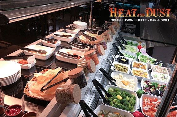 Indian fusion buffet - from £7.50pp