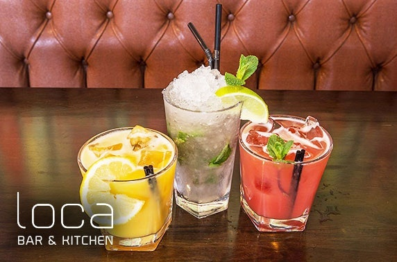 Dinner & drinks at Loca Bar & Kitchen