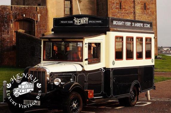 Dundee vintage bus tour