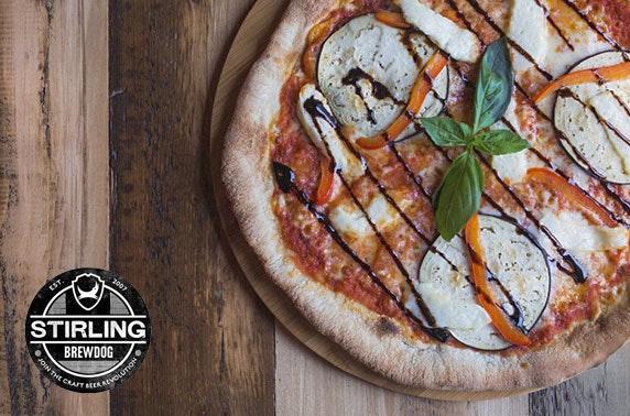 Brewdog Stirling Pizzas Drinks