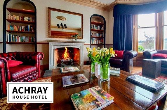 Sunday roast & optional stay at award-winning Achray House Hotel