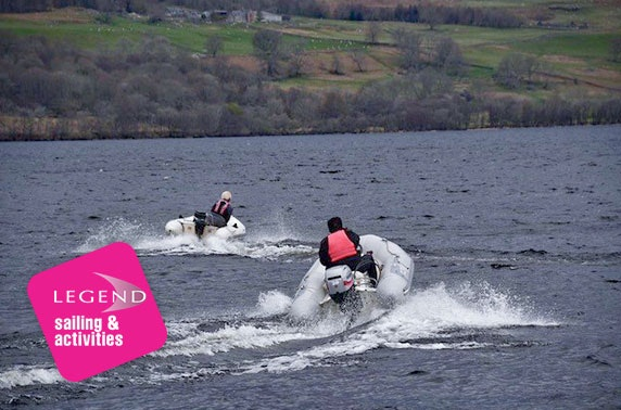 Loch Tay powerboat driving - from £26