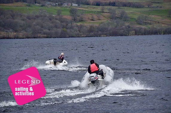 Powerboat driving experience, Loch Tay