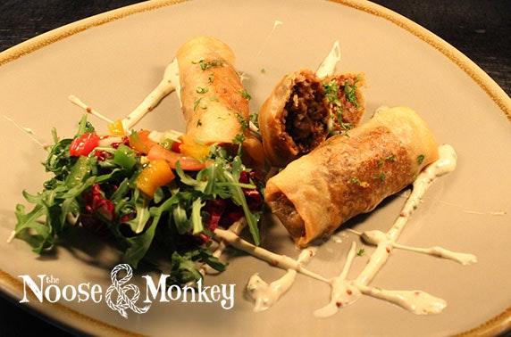 Noose & Monkey dining, Rosemount