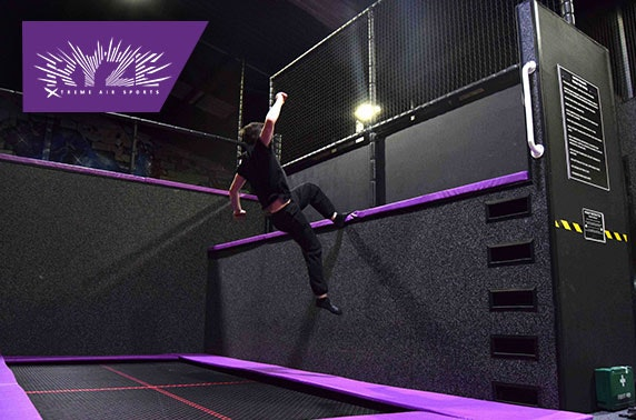 Ryze trampoline park 2 hour pass or pizza party