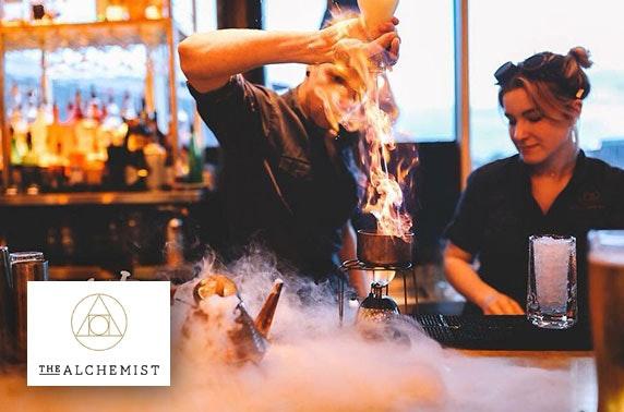 Cocktail masterclass at The Alchemist, Eldon Square