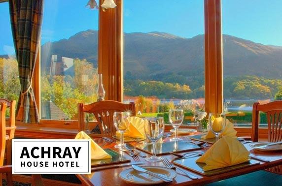 Award-winning Achray House stay