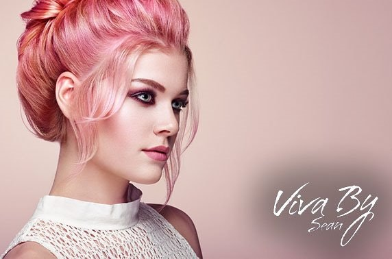 Cut, blow dry & optional highlights at award-winning Viva By Sean