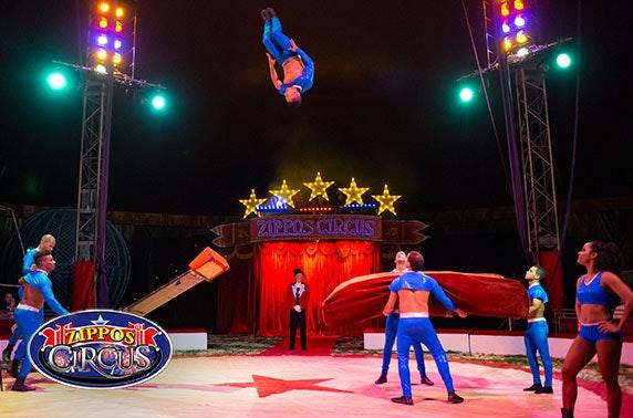 Zippo's Circus, Inverness, Inverurie, Elgin and Peterhead