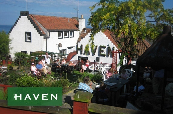 The Haven lunch, nr St Andrews