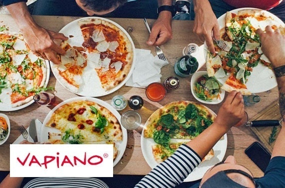 Pizza or pasta at Vapiano, New Town