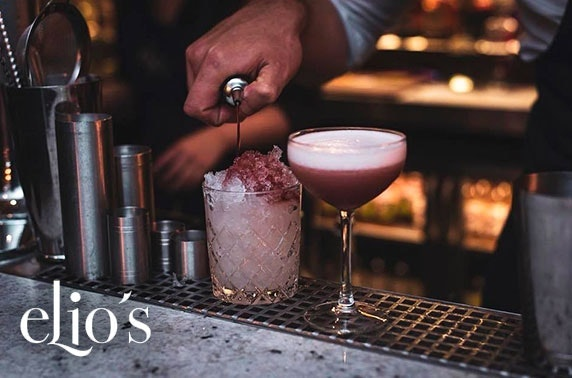 Elio's Prosecco or cocktails & nibbles, George Street