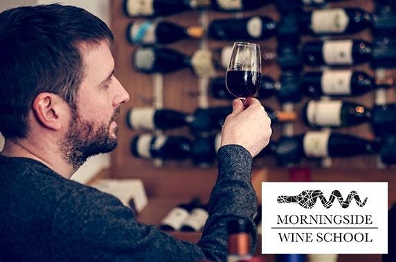 Morningside Wine School tasting evening, City Centre