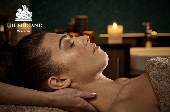 4* The Midland Hotel Spa day & luxury ESPA products