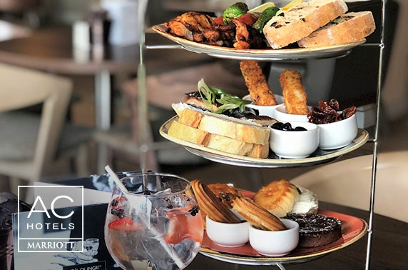 Rustic afternoon tea & gin, AC by Marriott