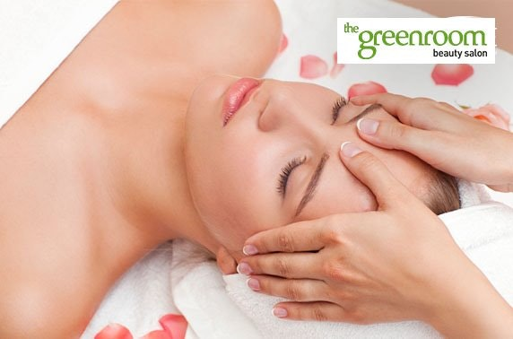 Greenroom Beauty Salon luxury bespoke facial