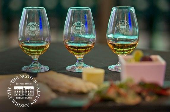 Scotch Malt Whisky Society workshop or membership