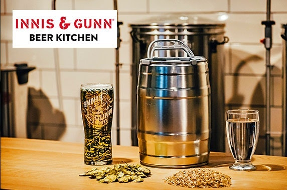 Brew School at the Innis & Gunn Beer Kitchen, Dundee