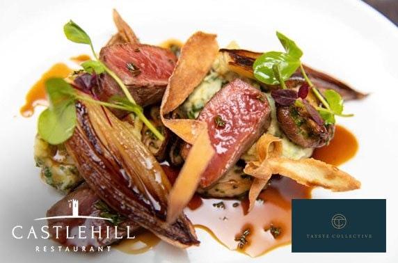Luxury dining at Castlehill